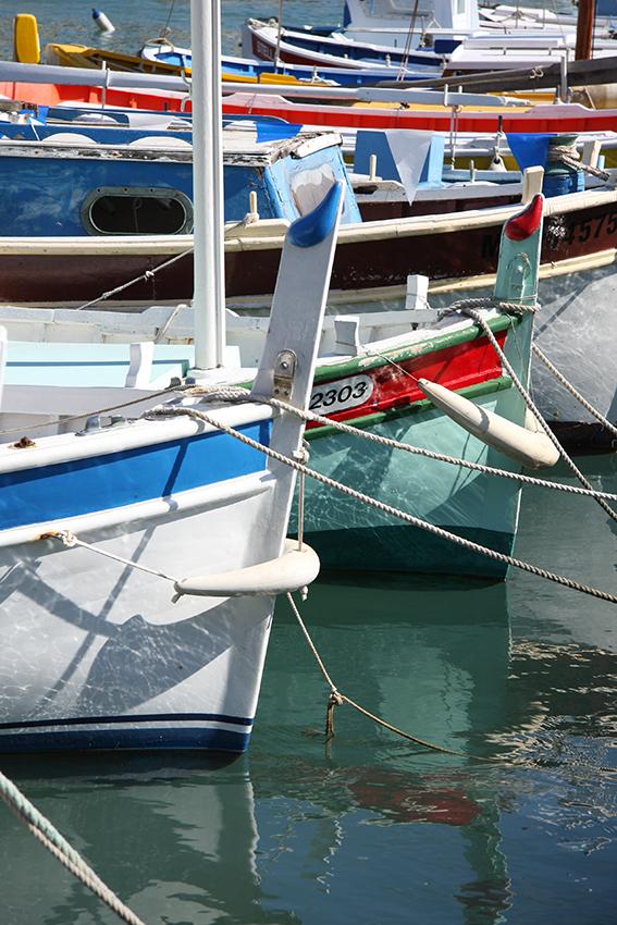 Barques et pointus colorés de Cassis [PHOTO © Laurence FILLON]