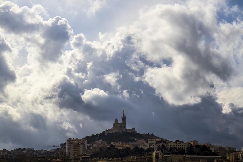 Notre Dame de la Garde, Marseille [Photographie © Laurence FILLON]